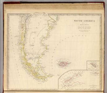 Patagonia, S. Shetlands, S. Orkneys.