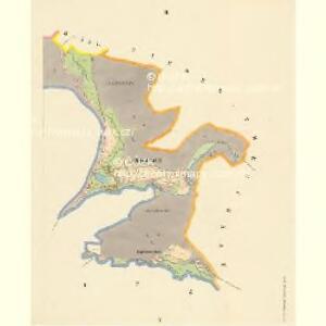 Böhmisch Kamnitz - c0951-1-003 - Kaiserpflichtexemplar der Landkarten des stabilen Katasters