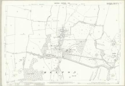Bedfordshire XXVI.14 (includes: Barton in The Clay; Hexton; Higham Gobion; Shillington) - 25 Inch Map