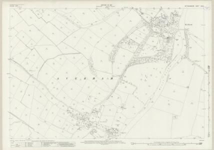 Nottinghamshire XXX.14 (includes: Averham; Kelham; Staythorpe) - 25 Inch Map