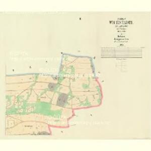 Wichstadtl (Mlatkow) - c4739-1-002 - Kaiserpflichtexemplar der Landkarten des stabilen Katasters