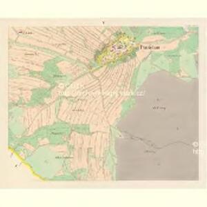 Purschau - c6024-1-004 - Kaiserpflichtexemplar der Landkarten des stabilen Katasters