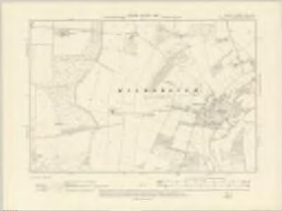 Norfolk LXXI.SW - OS Six-Inch Map