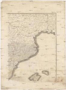 [Neueste Generalkarte von Portugal und Spanien]
