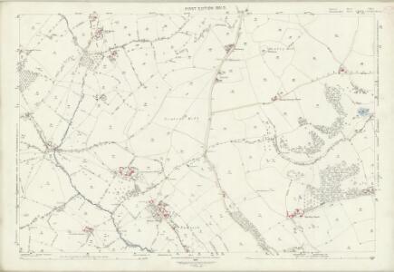 Somerset VIII.5 (includes: Batheaston; Charlcombe; Cold Ashton; Swainswick) - 25 Inch Map