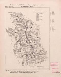 Religion and language maps of Lublin province, Poland no.9