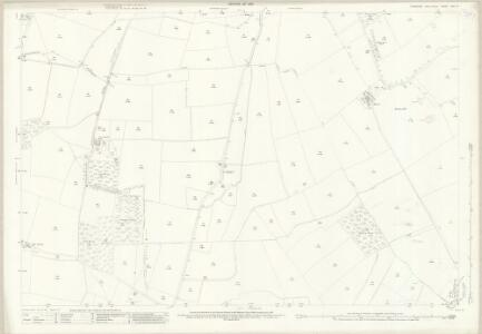 Yorkshire XXV.6 (includes: Aldbrough; Barton; Manfield; Melsonby; Stanwick St John) - 25 Inch Map