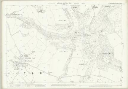 Gloucestershire XLVI.8 (includes: Alvington; Hewelsfield; St Briavels) - 25 Inch Map