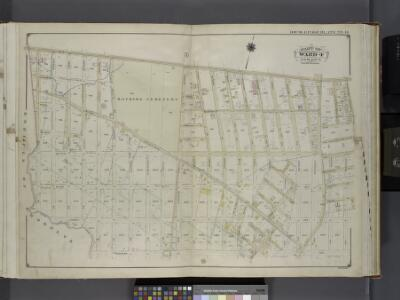 Queens, V. 1, Double Page Plate No. 14; Part of Jamaica, Ward 4; [Map bounded by Liberty Ave., Vanderveer Ave., Hegeman Ave., Spring Creek, Ruby St.] / by and under the supervision of Hugo Ullitz.
