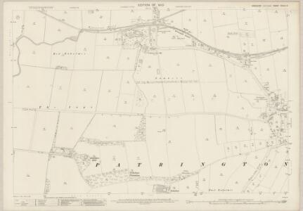 Yorkshire CCLVI.3 (includes: Patrington) - 25 Inch Map