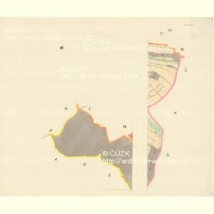 Chirles (Krchlowy) - m1362-1-003 - Kaiserpflichtexemplar der Landkarten des stabilen Katasters