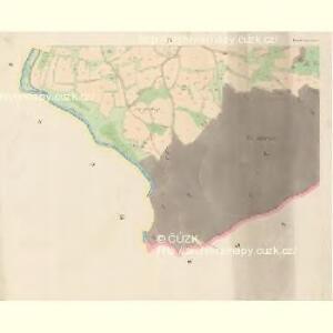 Tieschowitz (Těssauce) - c7899-1-004 - Kaiserpflichtexemplar der Landkarten des stabilen Katasters
