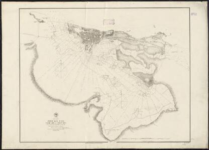 West Indies, Port San Juan, north side of Porto Rico : from a Spanish survey in 1868, corrected to 1874