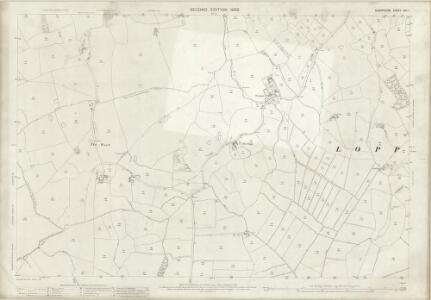 Shropshire XXI.1 (includes: Cockshutt; Loppington; Petton) - 25 Inch Map