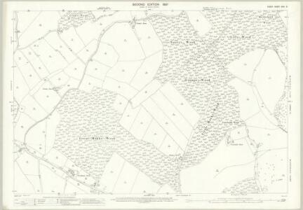 Essex (1st Ed/Rev 1862-96) XXVI.5 (includes: Coggeshall; Halstead Rural) - 25 Inch Map