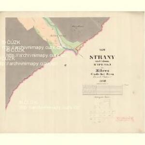 Strany - m2897-1-015 - Kaiserpflichtexemplar der Landkarten des stabilen Katasters