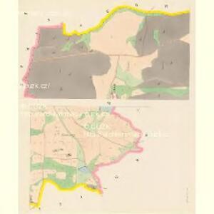 Jettenowitz (Jetenowice) - c2866-1-002 - Kaiserpflichtexemplar der Landkarten des stabilen Katasters