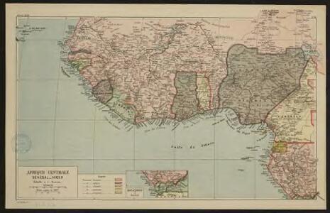 Afrique centrale. Sénégal-Niger
