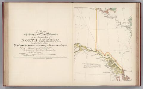 Facsimile:  Arrowsmith's North America (portion).