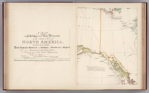 Facsimile:  Arrowsmith's North America (portion).