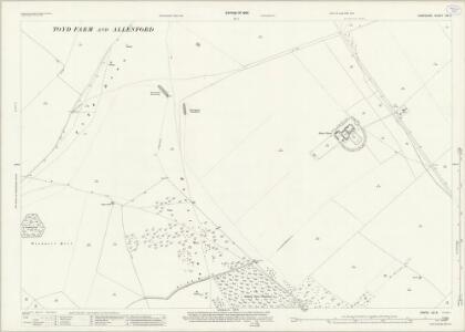 Hampshire and Isle of Wight LIV.5 (includes: Damerham; Martin; Rockbourne) - 25 Inch Map