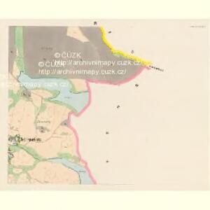 Jettenowitz (Jetenowice) - c2866-1-004 - Kaiserpflichtexemplar der Landkarten des stabilen Katasters