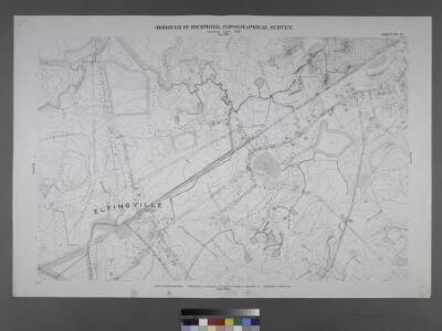 Sheet No. 77. [Includes Eltingville, Amboy Road, Wilson Avenue, Eltingville Boulevard, Lindenwood Road, Shelley Lane and Colon Avenue.]; Borough of Richmond, Topographical Survey.