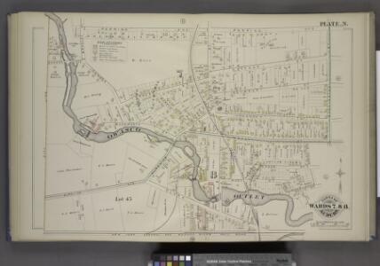 Parts of the City Auburn. Wards 7& 8.