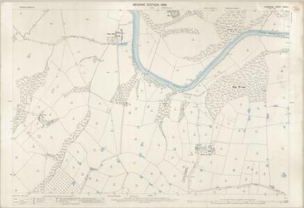 Cheshire XXXIII.1 (includes: Aston; Frodsham; Kingsley) - 25 Inch Map