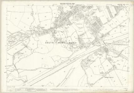 Lancashire CIII.11 (includes: Davyhulme; Eccles) - 25 Inch Map
