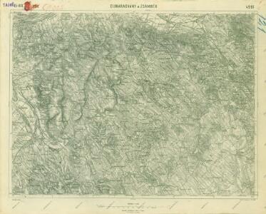 III. vojenské mapování 4961