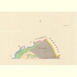 Bieltsch (Belec) - c0192-1-001 - Kaiserpflichtexemplar der Landkarten des stabilen Katasters