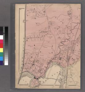 Plates 23 & 24: Southern Part of Yonkers and portion of West Farms.