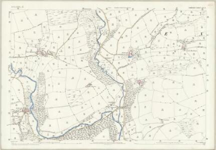 Somerset LVII.3 (includes: Exton; Winsford) - 25 Inch Map
