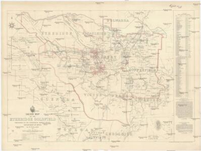Sketch map of the Etheridge goldfield