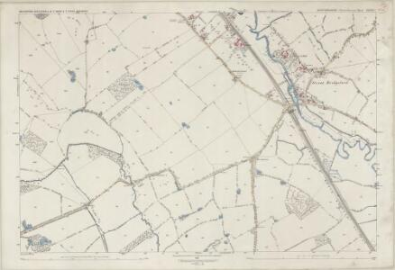 Staffordshire XXXVII.1 (includes: Eccleshall; Seighford; Whitgreave) - 25 Inch Map