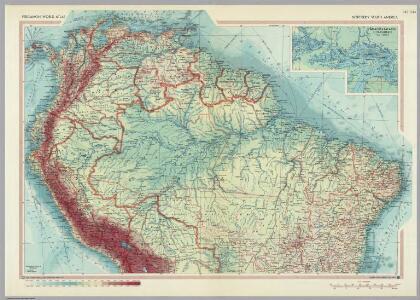 Northern South America.  Pergamon World Atlas.