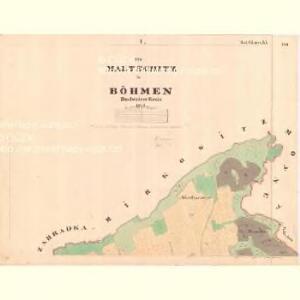 Maltschitz - c4385-1-001 - Kaiserpflichtexemplar der Landkarten des stabilen Katasters