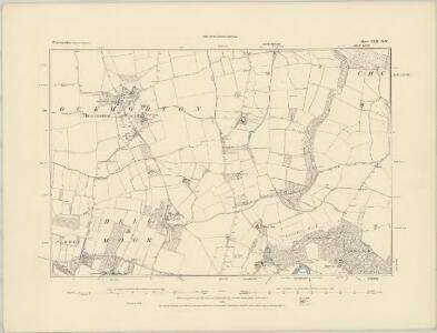 Worcestershire XLII.SW - OS Six-Inch Map