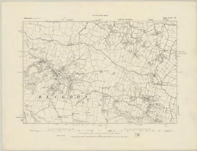 Somerset XVIII.NW - OS Six-Inch Map