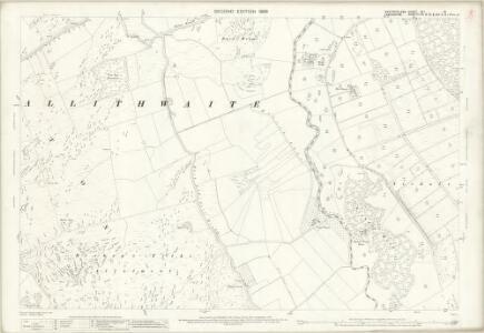 Westmorland XLI.16 (includes: Upper Allithwaite; Witherslack) - 25 Inch Map