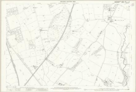 Staffordshire XXII.9 (includes: Market Drayton; Mucklestone; Norton In Hales; Tyrley) - 25 Inch Map