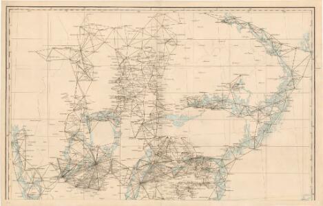 Trigonometrisk grunnlag, vedlegg 64b: Ort-Bestämmelsen i Södra Delen af Swerige