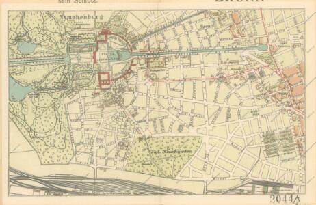 Brunn's Plan von München