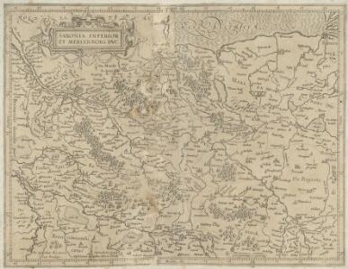 Saxonia Inferior Et Meklenborg Dvc.