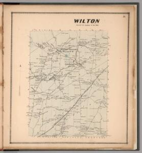 Wilton, Saratoga County, New York.