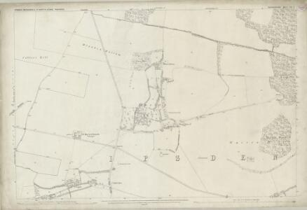 Oxfordshire LII.4 (includes: Crowmarsh; Ipsden) - 25 Inch Map