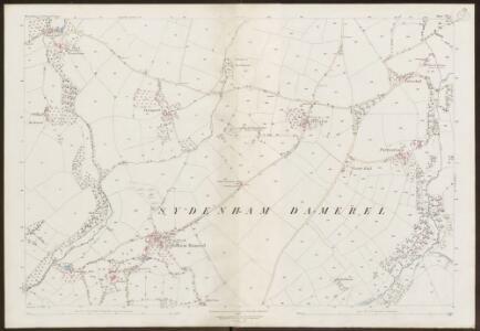 Devon CV.1 (includes: Lamerton; Milton Abbot; Sydenham Damerel) - 25 Inch Map