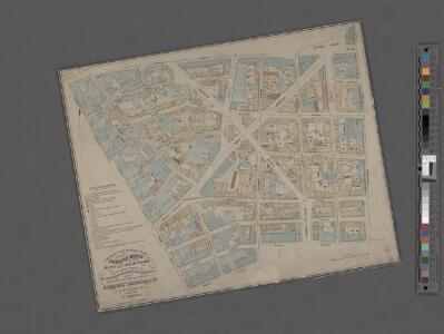 Sanitary and social chart of the Fourth Ward of the City of New York, to accompany a report of the 4th Sanitary Inspection District.