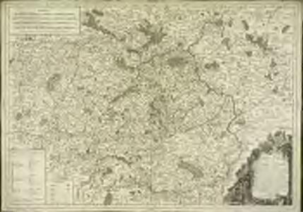 Carte du gouvernement général du Maine et Perche